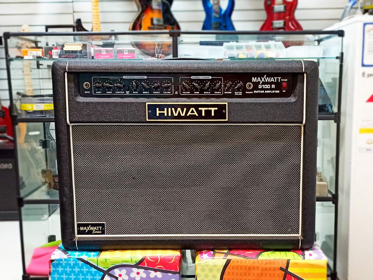 Amplificador para Guitarra HIWATT G100 R - Usado