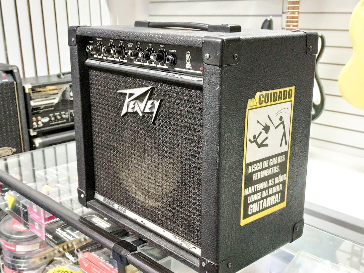 Amplificador Peavey p/ Guitarra - Rage 158 - Usado