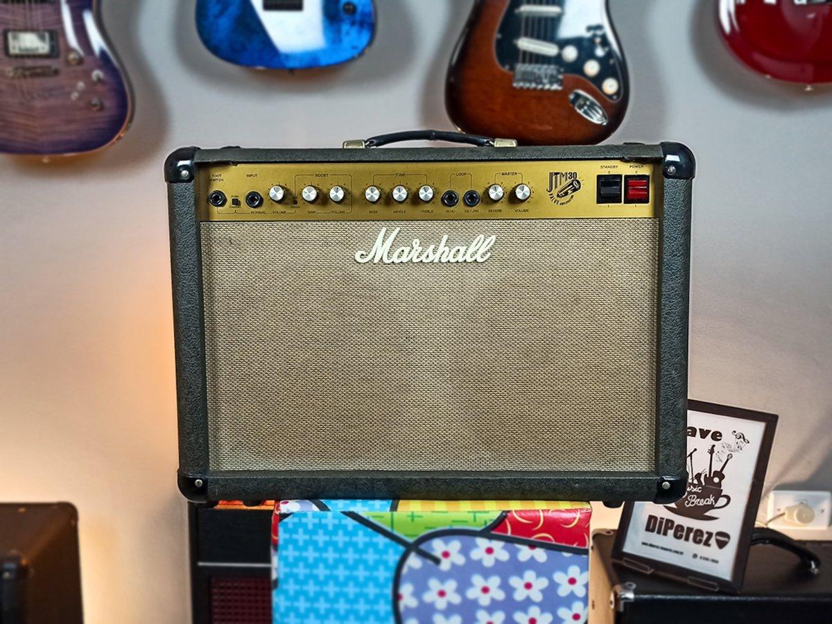 Amplificador Valvulado Marshall JTM30 – Usado