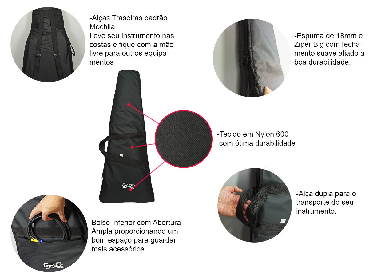 Bag Capa Guitarra Linha Start - Soft Case