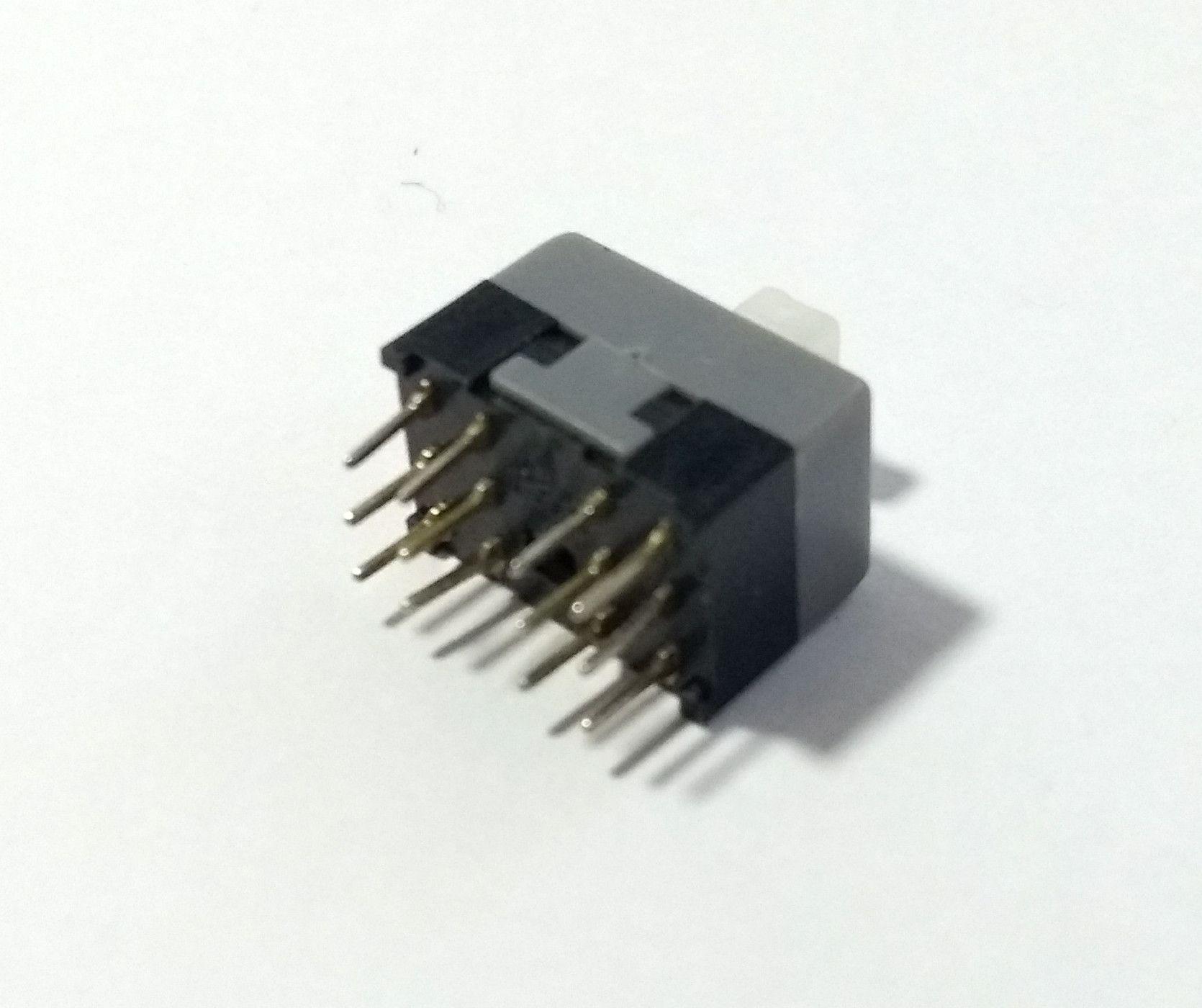 Botão Chave Mute e Solo P/ Mesa De Som Behringer - 12 pinos