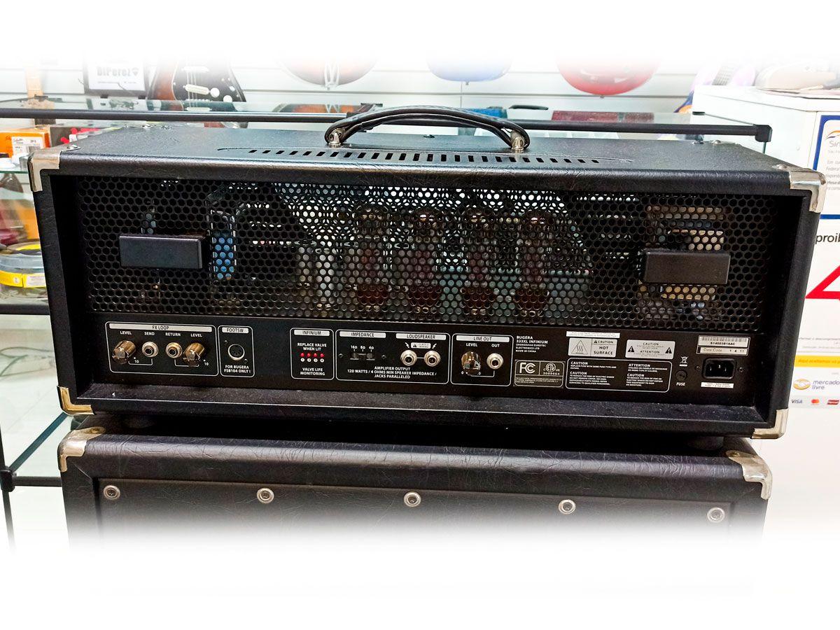 Cabeçote Bugera 333XL Infinium 120W – c/ Foot - Usado