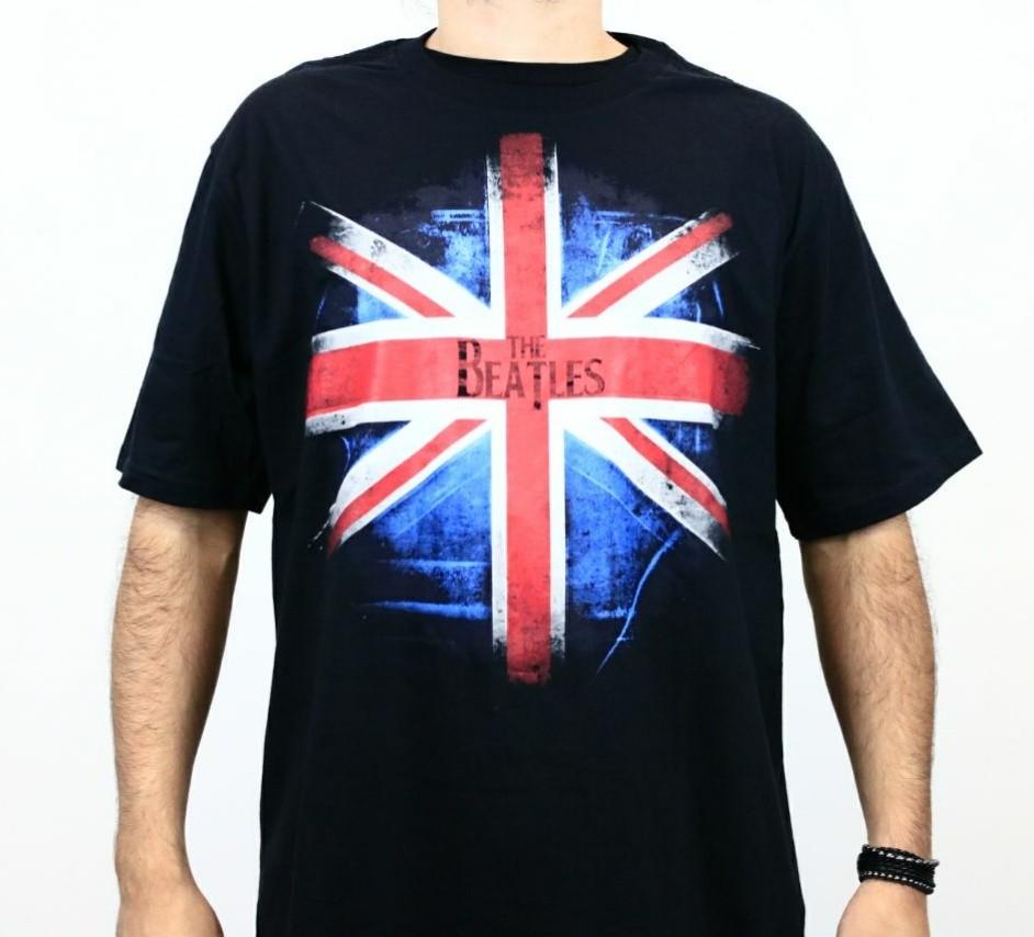 Camiseta Beatles England Preta