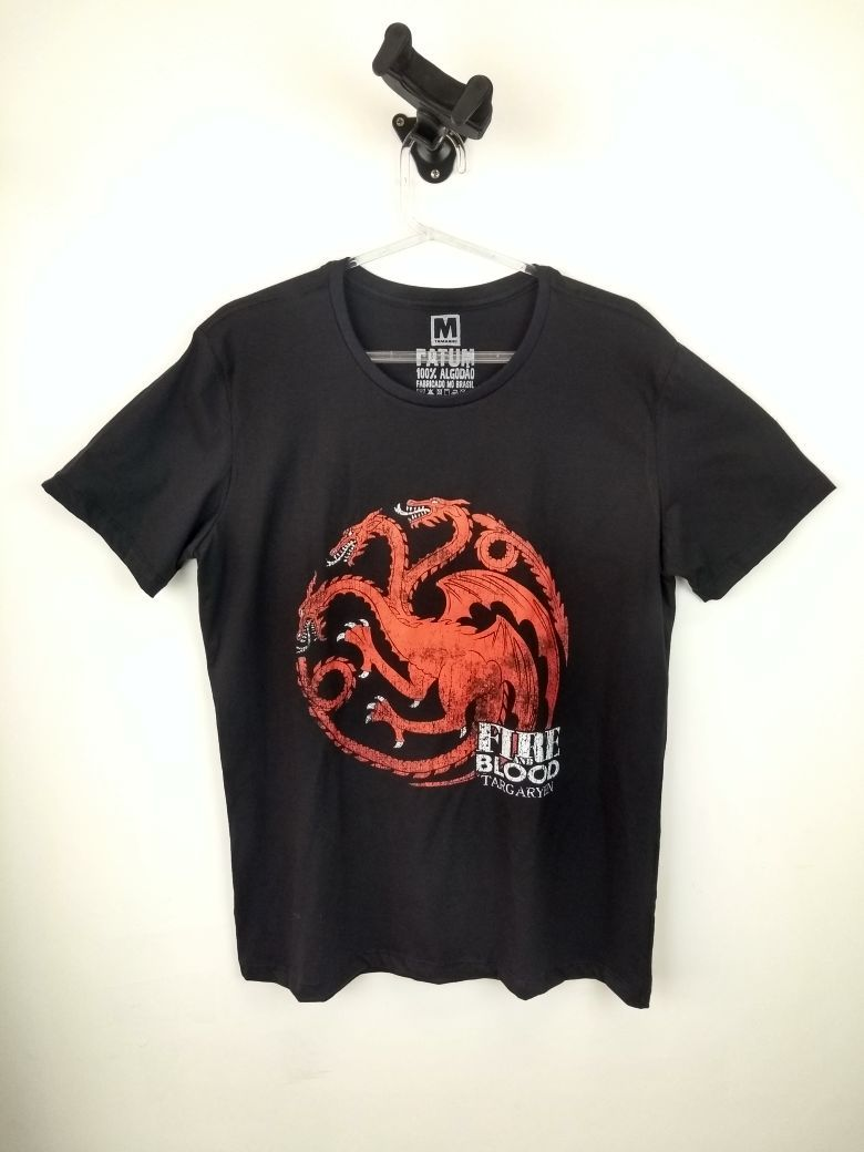 Camiseta Game Of Thrones Fire And Blood