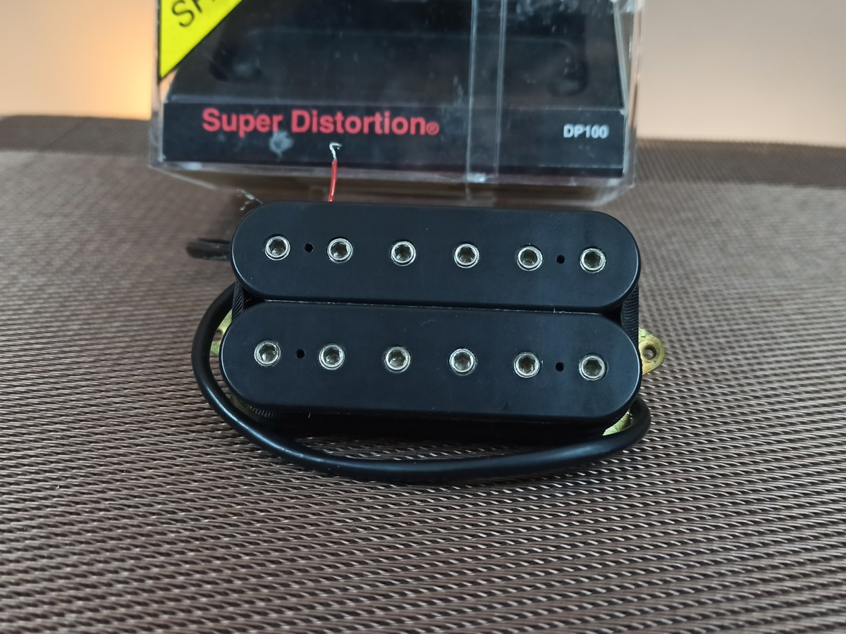 Captador Dimarzio Super Distortion - DP100 - F Spaced - Usado