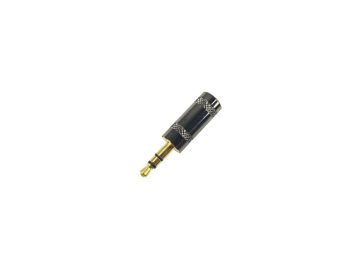 Conector Plug P2 Stereo Gold Premium - Unidade