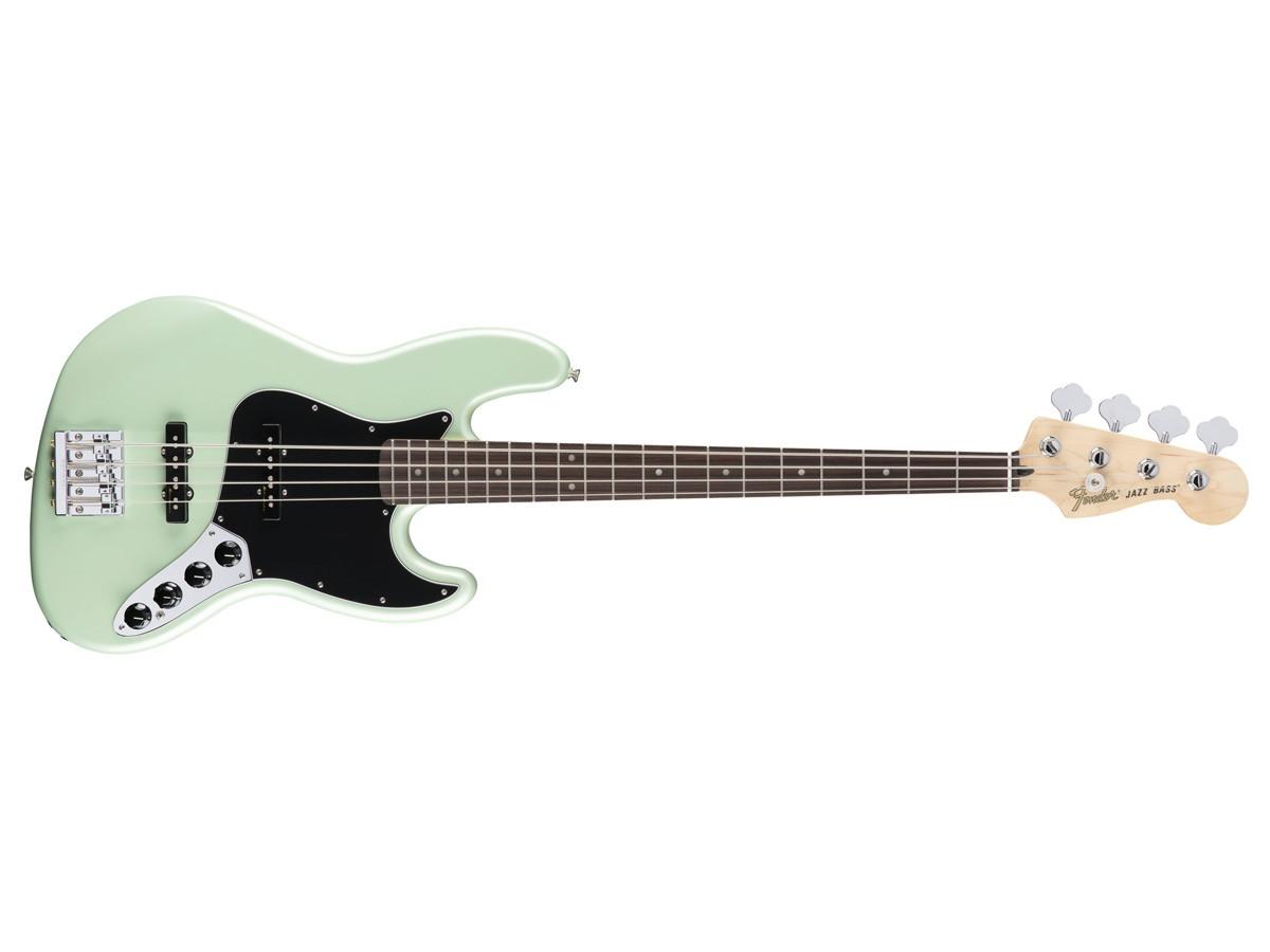 Baixo Fender Deluxe Ativo Jazz Bass Surf Pearl Mostruário