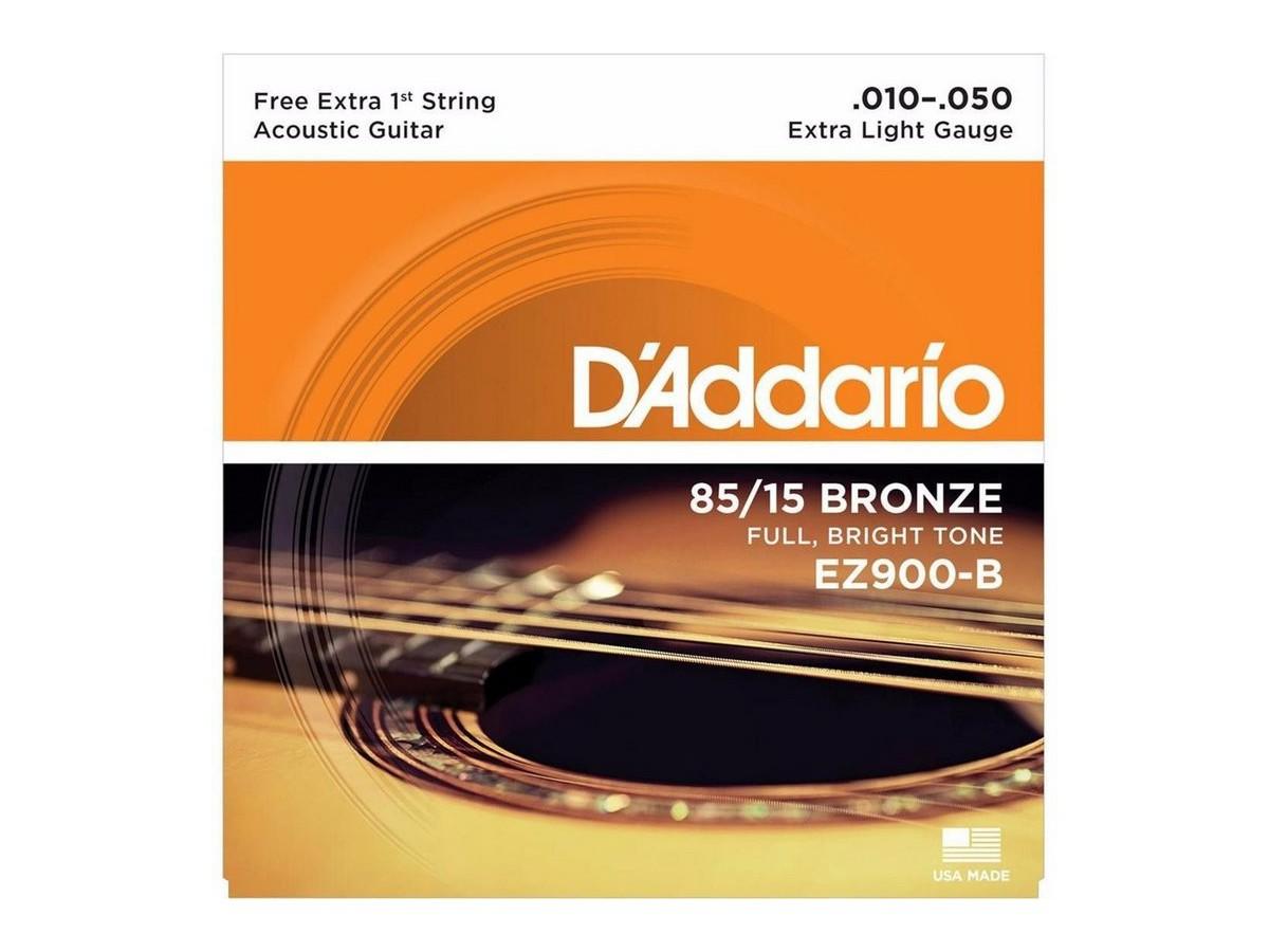 Corda / Encordoamento Violão Aço D'Addario .010 EZ9100-B