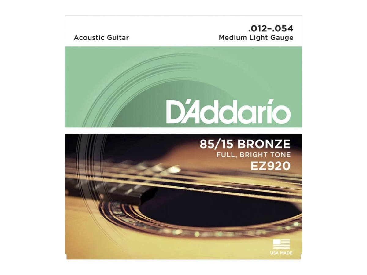 Corda / Encordoamento Violão Aço D'Addario .012 EZ920 012 - 054