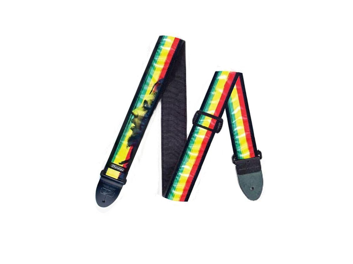 Correia p/ Guitarra Violão Baixo Bob Marley Face Dunlop