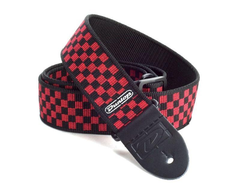 Correia para Instrumentos Red Check Xadrez Vermelha Dunlop