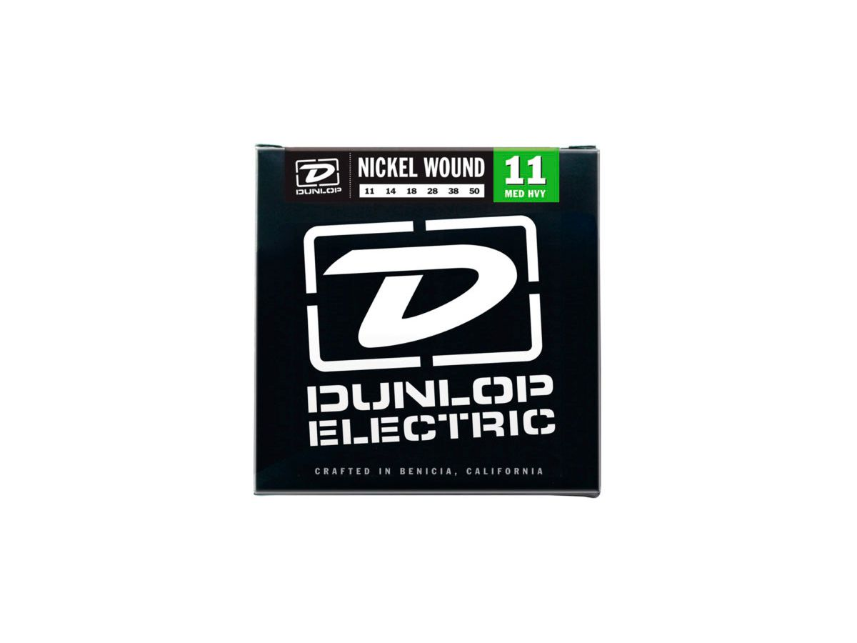 Encordoamento Guitarra Dunlop .011 Medium Heavy