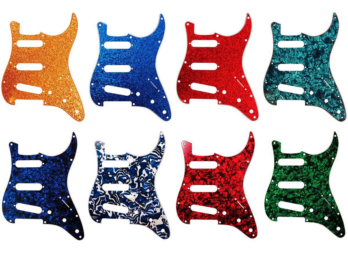 Escudo de Guitarra Strato D`Andrea USA