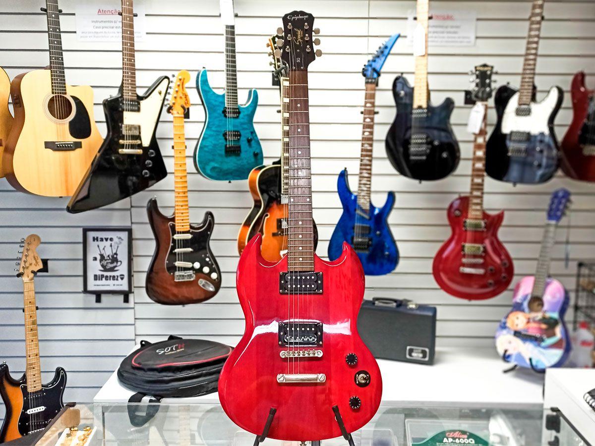 Guitarra Epiphone Sg Special Cherry - Usada