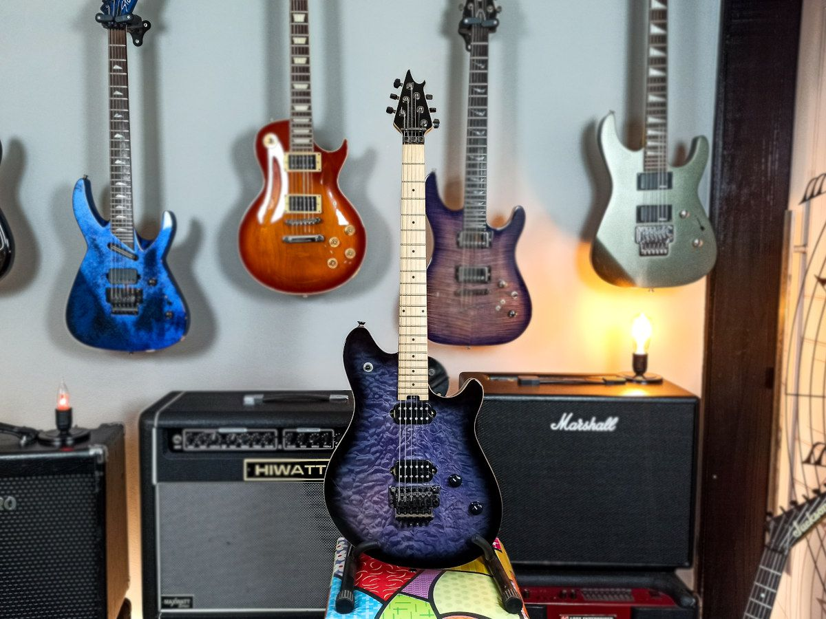 Guitarra Evh - Wolfgang Standart HH Floyd Rose - c/ Case Evh - USADA