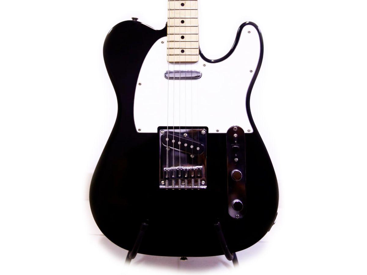 Guitarra Fender Squier Telecaster Affinity Mn Tele Preta - USADA