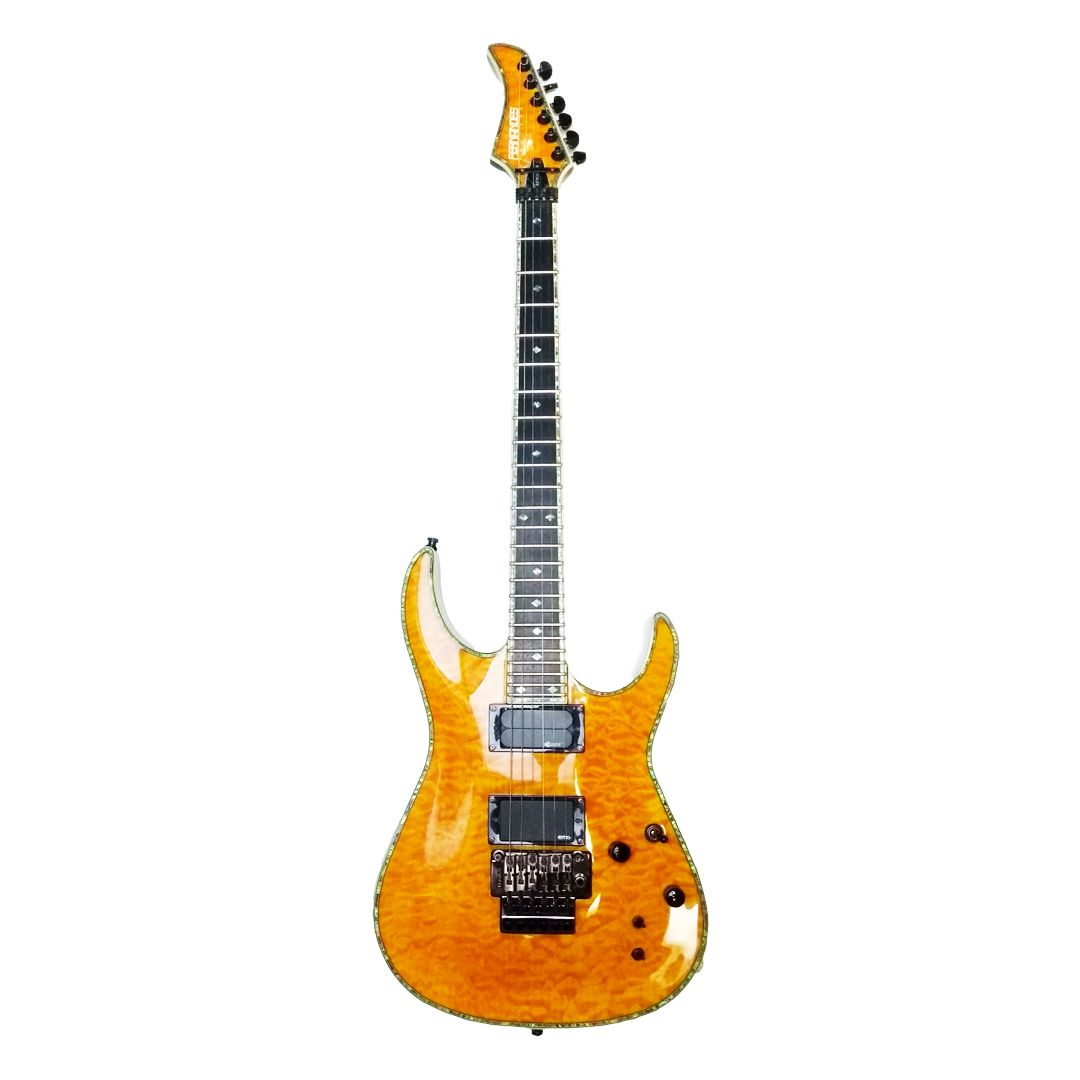 Guitarra Fernandes Revolver Elite - Lemon Drop - Usada