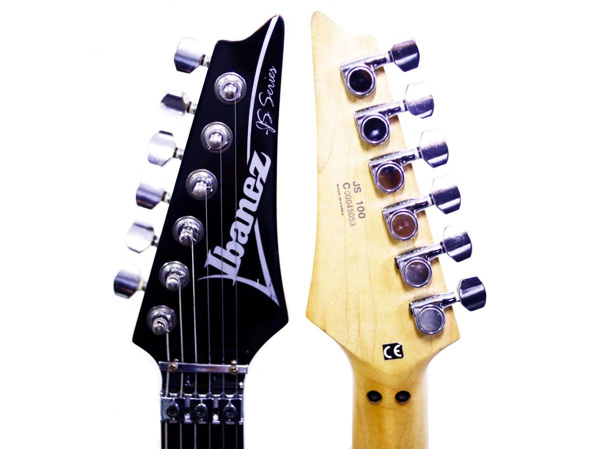 Guitarra Ibanez Joe Satriani JS100 Preta - Usada - JS 100