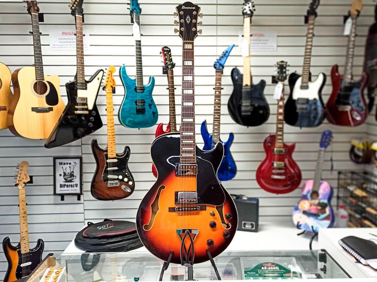 Guitarra Ibanez Semi Acústica AG75 - Usada