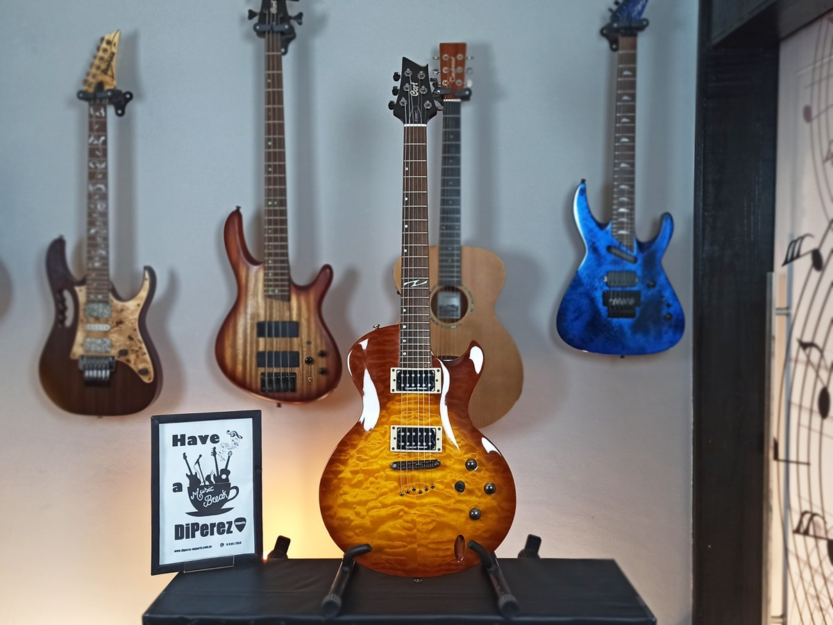 Guitarra Les Paul Cort – Z custom – Usada - Seymour Duncan