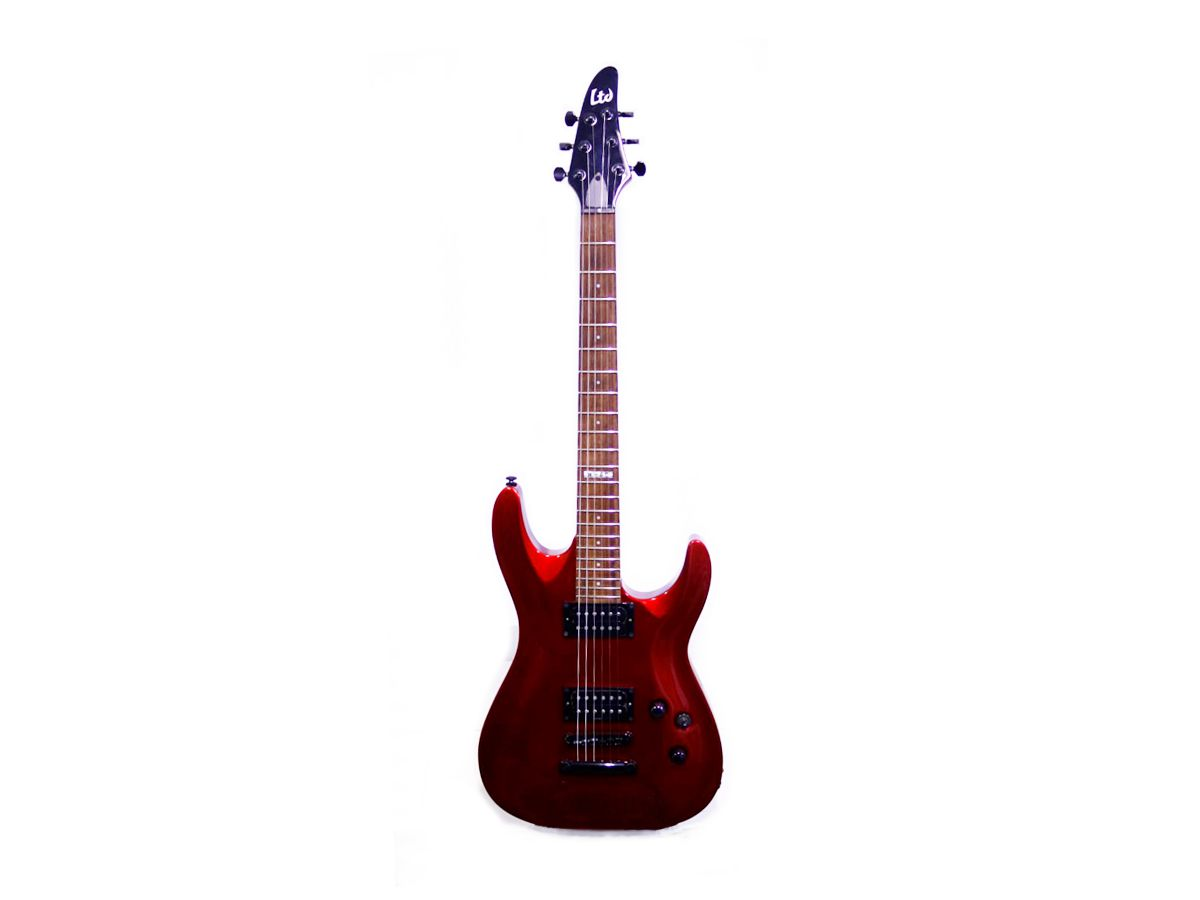 Guitarra Ltd H-50 vermelha - Usada