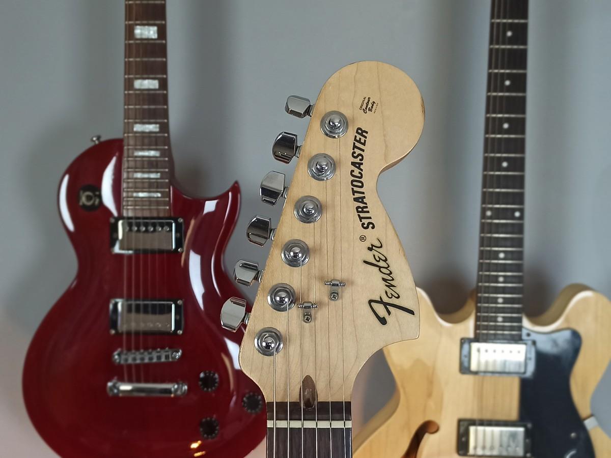 Guitarra Stratocaster Fender Highway One PRETA Americana – Usada C/ Upgrade