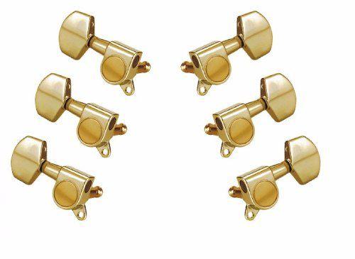 Jogo de Tarraxas Violão Rozini Ind. Blindada Dourada RA333G.D2(3+3)