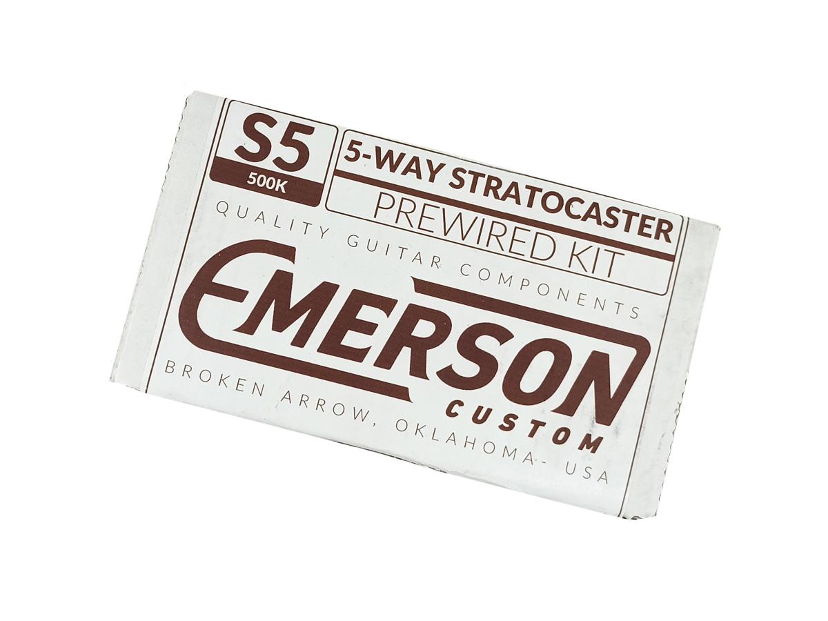 Kit Elétrica Strato Emerson Custom- 500k - Cts