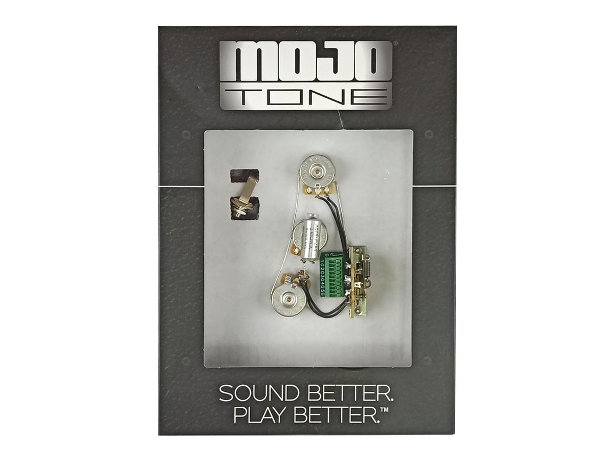 Kit Elétrica Strato Mojo Tone Sem Solda Blender - Cts 250k
