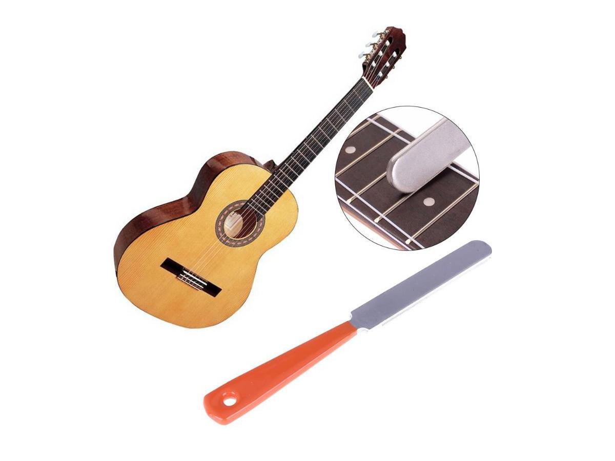 Lima de Traste para Arredondar e Nivelar - Luthier - Luthieria