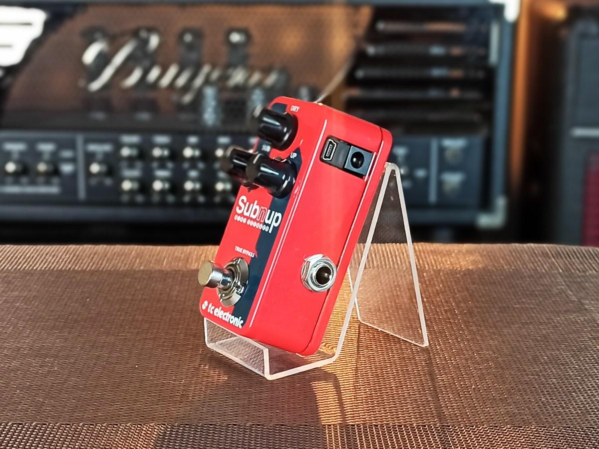 Mini Pedal Oitavador Subnup Mini Octaver Tc Electronic – Usado