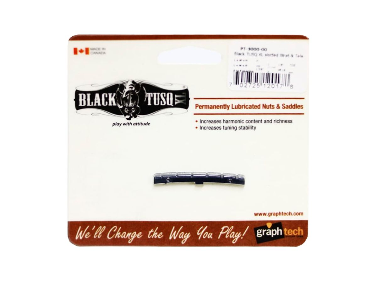 Nut Graph Tech PT-5000-00 - Black TUSQ XL Fender Strato - Tele
