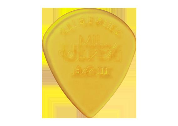 Palheta Ultex Jazz III XL 1.38mm - kit com 6 palhetas- Dunlop