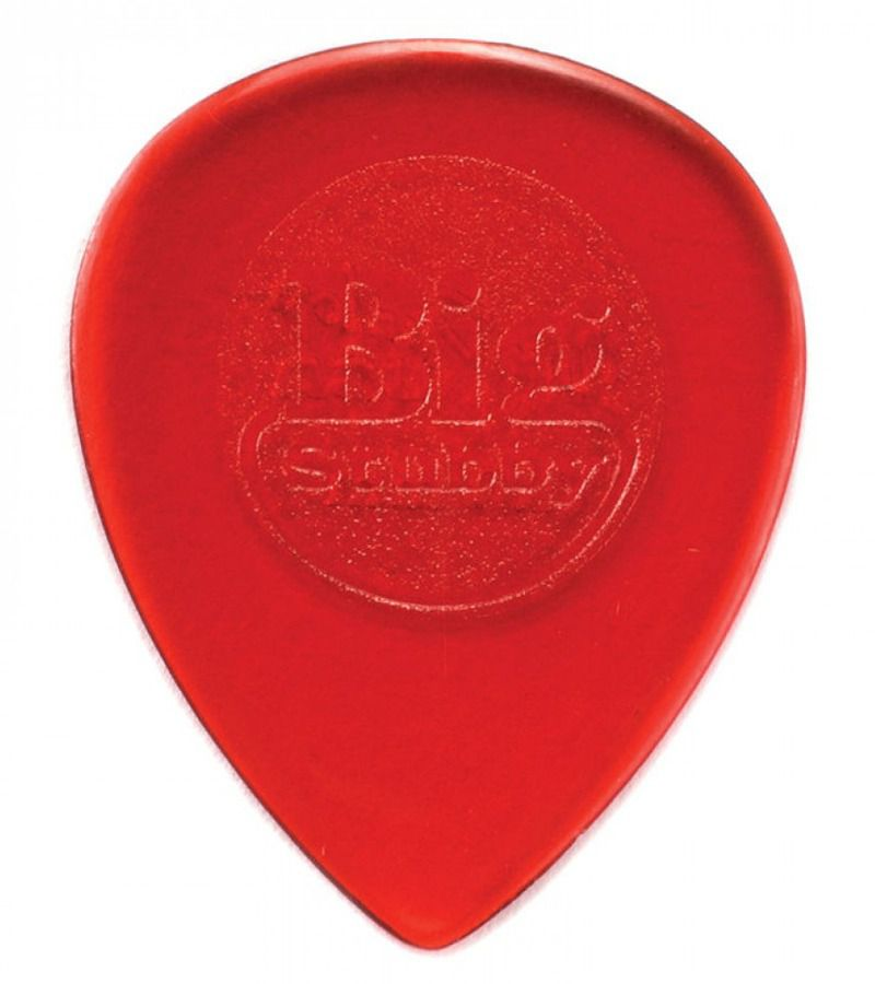 Palhetas Dunlop Big Stubby 1mm Vermelha kit com 6