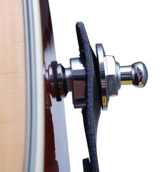Par de Strap Lock Trava de Correia p/ Guitarra, Baixo e Violão