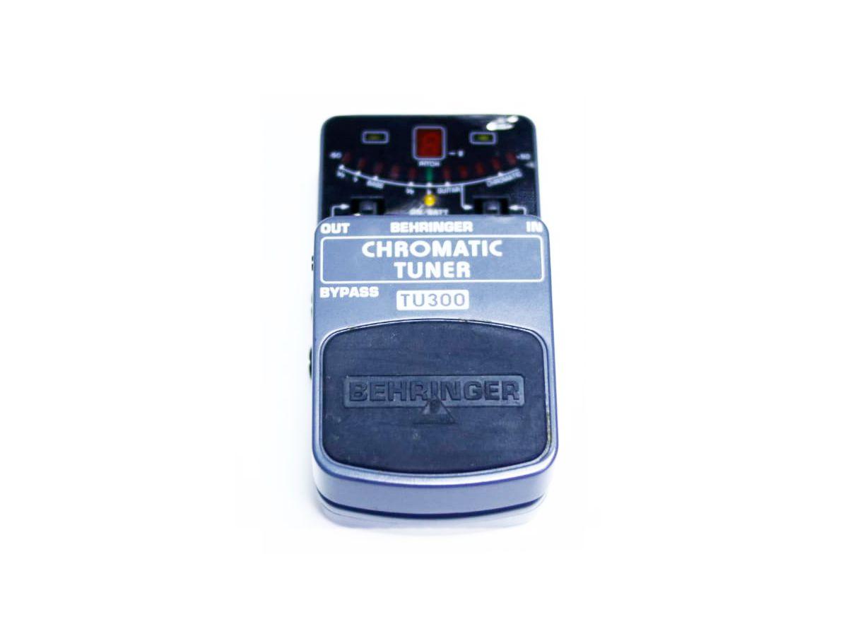 Pedal Afinador Behringer Tu300 Chromatic Tuner - Usado