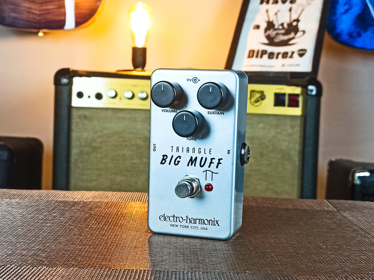 Pedal Big Muff Triangle Electro-Harmonix - Usado