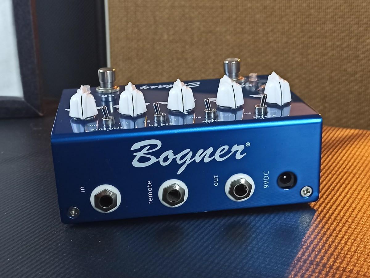 Pedal Bogner Ecstasy Blue Overdrive Boost - USADO