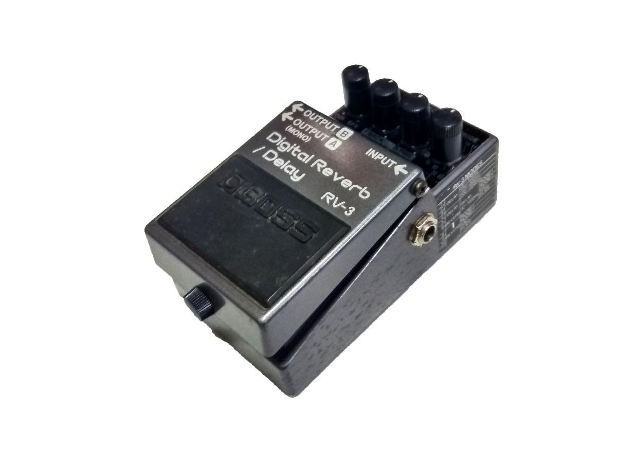 Pedal Boss RV-3 Digital Reverb & Delay Pedal - USADO