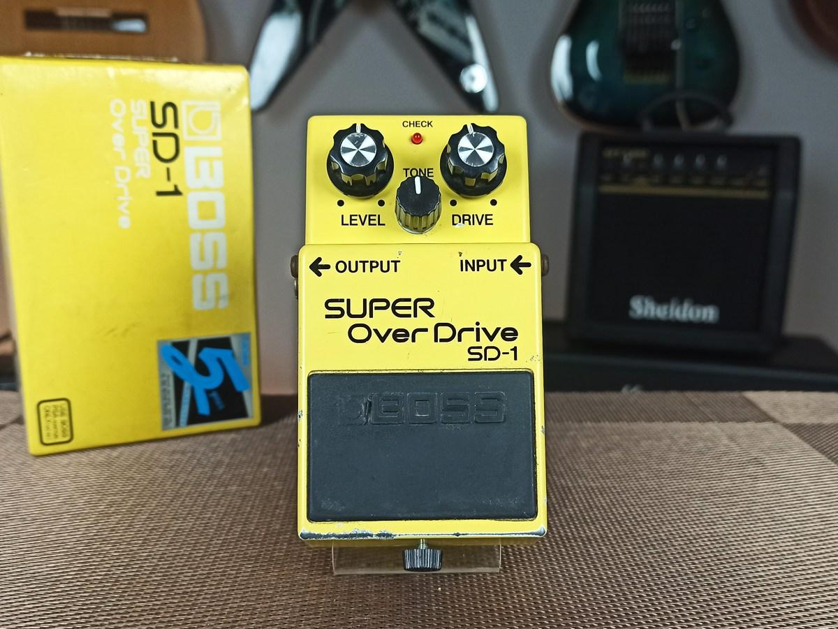 Pedal Boss Sd-1 Super Overdrive - Usado