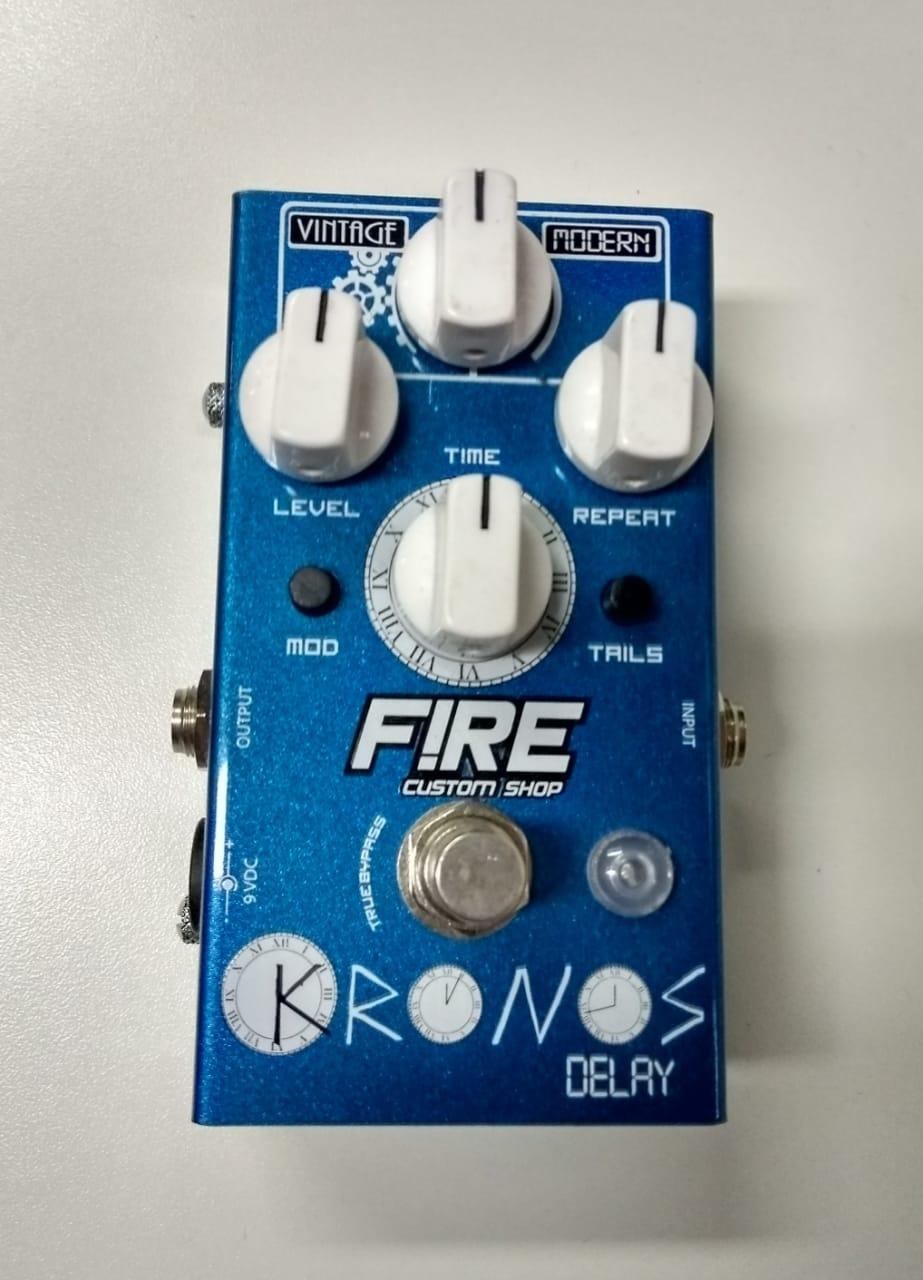 Pedal de Delay Kronos Fire - Usado com caixa