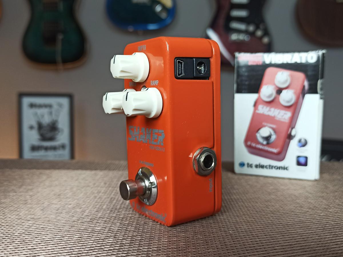 Pedal de Guitarra Shaker Mini Vibrato -TC Electronic  Usado