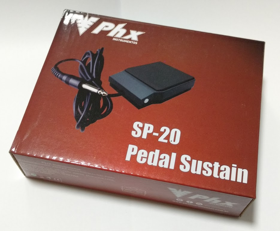 Pedal De Sustain P/ Teclado Universal Phx - Sp-02