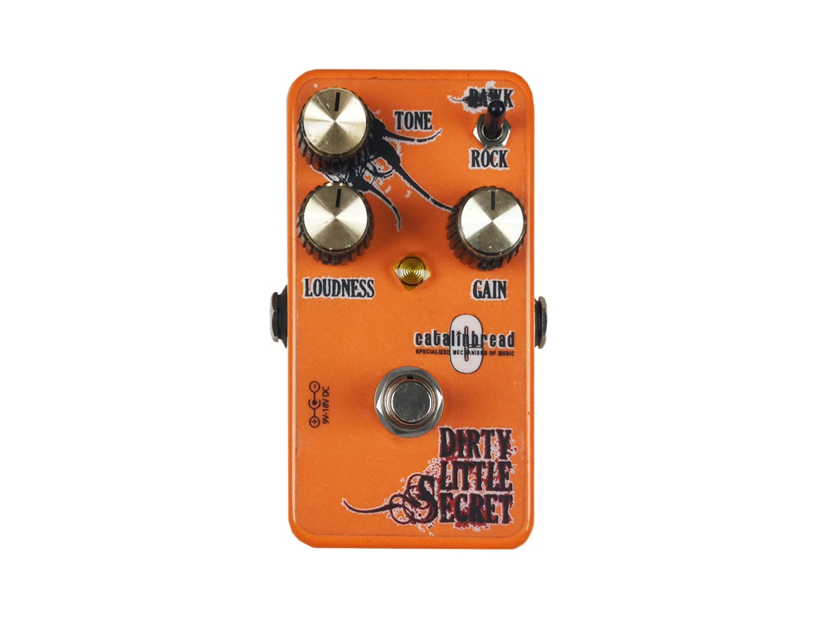 Pedal Dirty Little Secret - Overdrive - Catalinbread - V.2.2 USADO