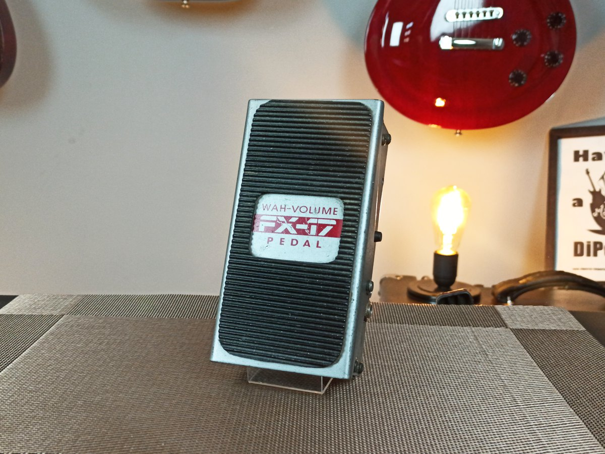 Pedal Dod Fx17 Wah Wah / Volume