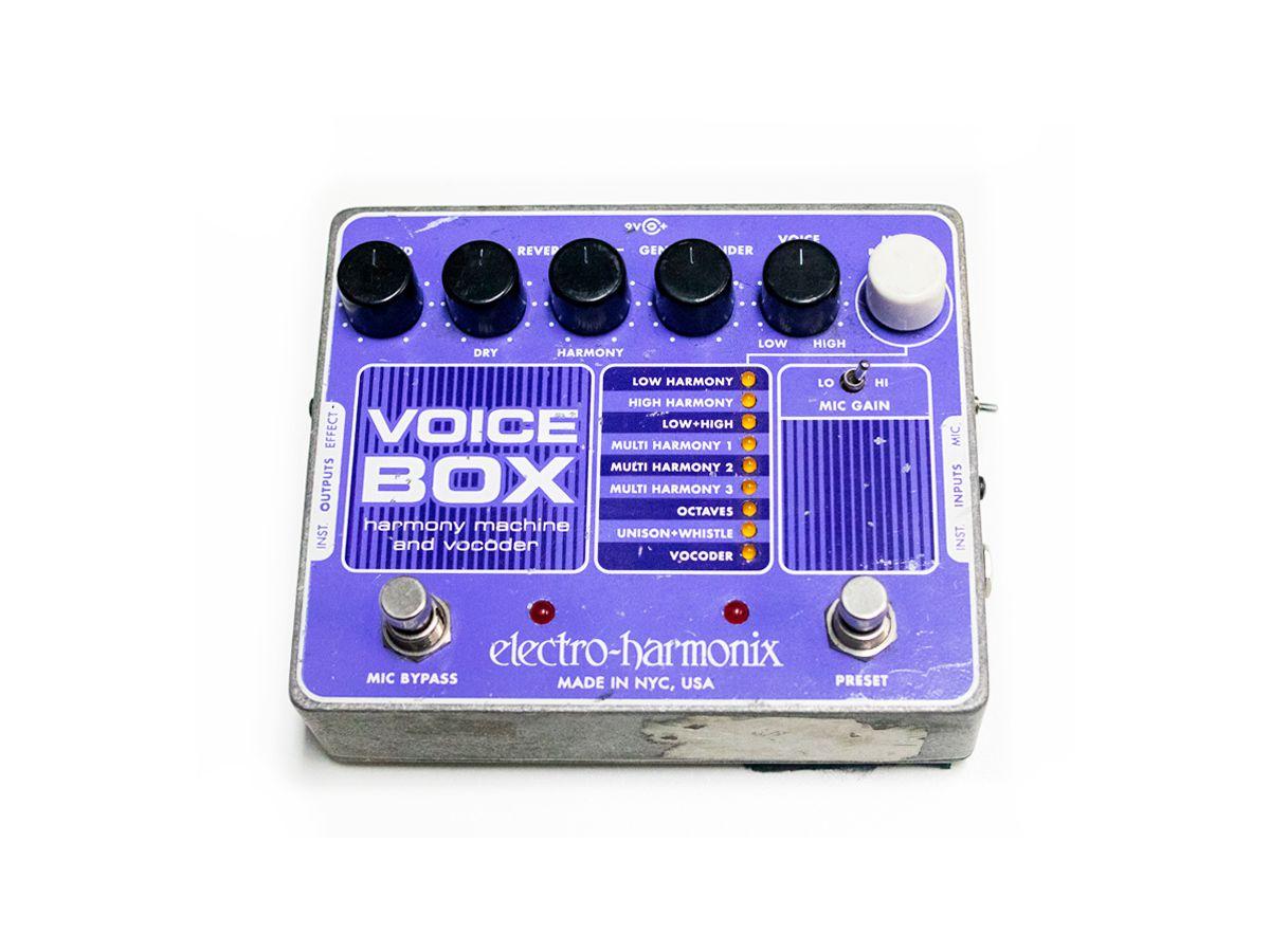 Pedal Electro Harmonix Ehx Voice Box Vocoder - USADO