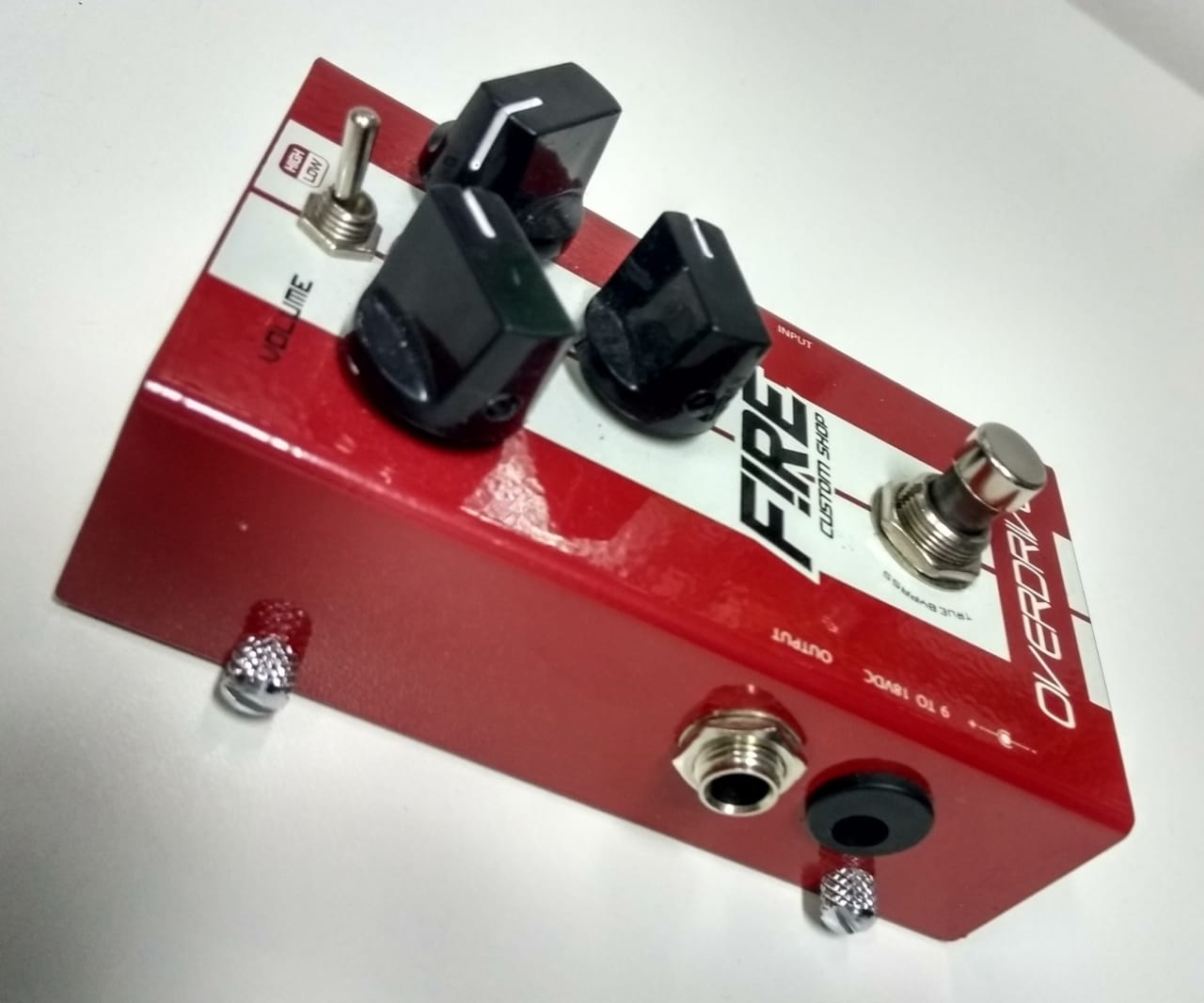 Pedal Fire Overdrive Usado c/ caixa
