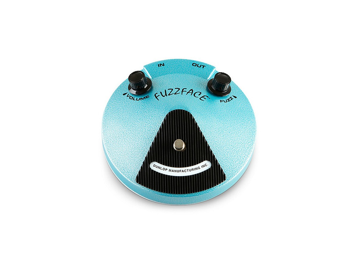 Pedal Fuzz Face Jh-f1 Jimi Hendrix - Dunlop - USADO