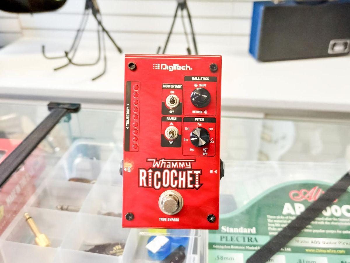 Pedal Guitarra Whammy Ricochet Digitech Para Mudança De Tom