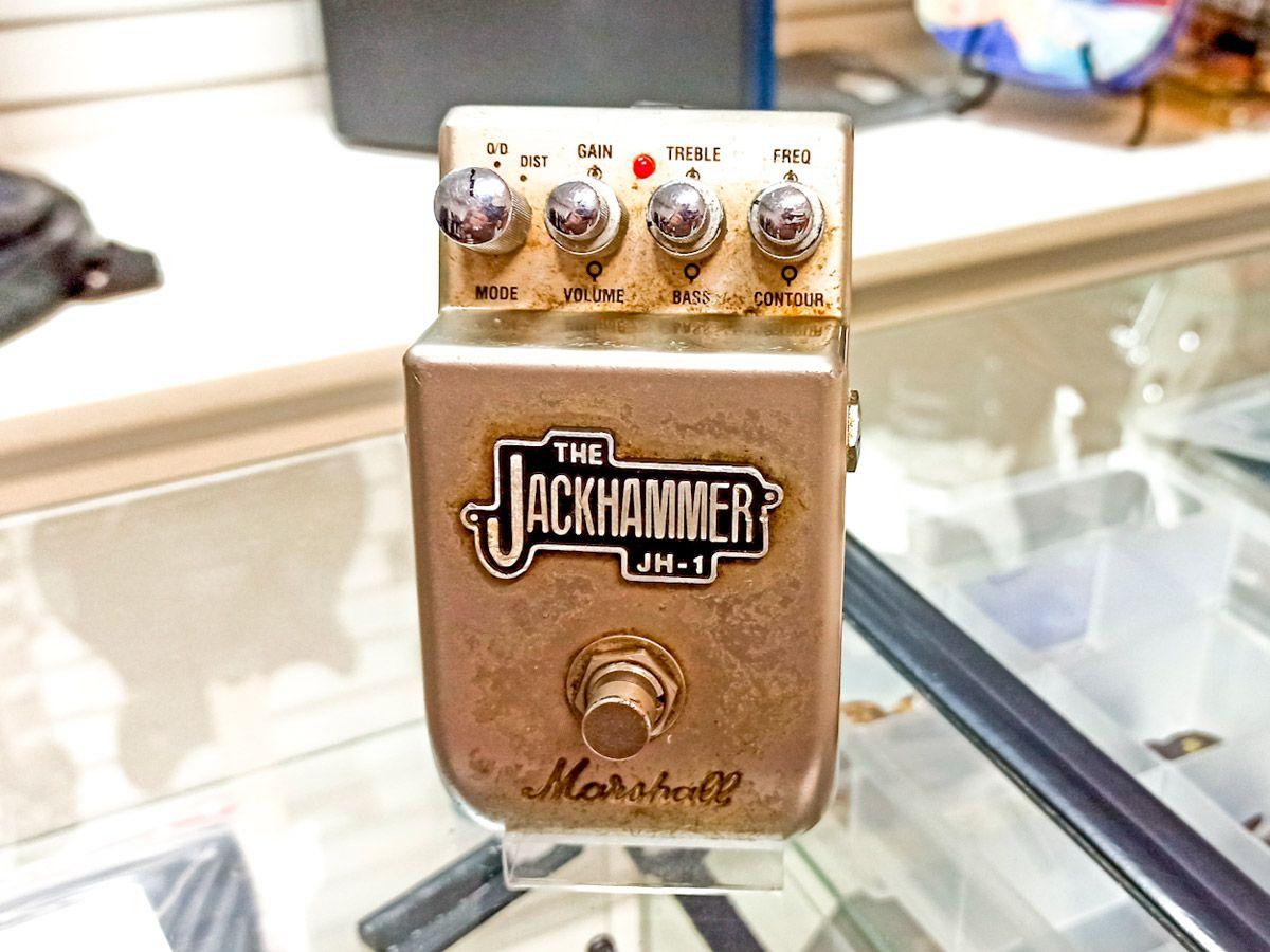 PEDAL JH-1 JACKHAMMER P/ GUITARRA - MARSHALL - USADO